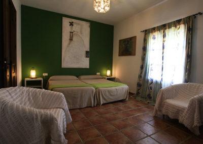 Habitación doble planta baja Casa Rural La Cabra