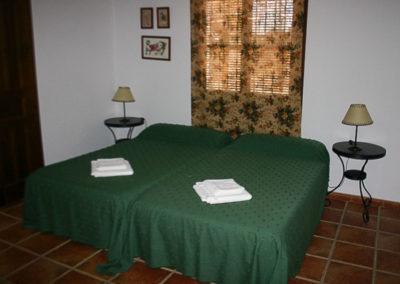 Habitación doble 3 planta baja Casa Rural La Cabra