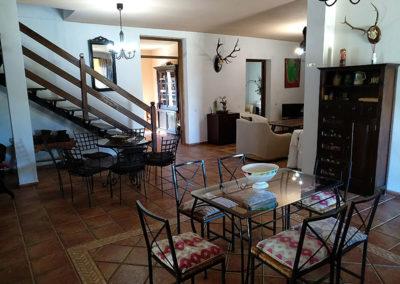 Salón entrada Casa Rural La Cabra